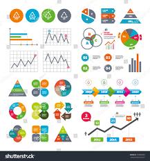 Business Data Pie Charts Graphs Pet Stock Vector 318809330