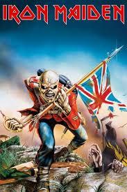 Iron Maiden Trooper Plakát Obraz Na Zeď Posterscz
