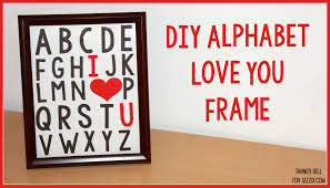 I Love You Crafts Diy I Heart You Frame A Little Craft In Your Day