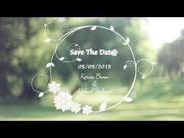 Custom Wedding Invitation Video Save The Date