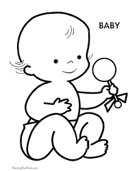 Small Picture Baby Preschool coloring pages Free Printable Coloring Pages For