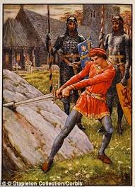 historian graham robb believes king arthur s ilration pictured camelot was built at the end