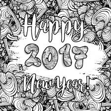 Happy New Year Celebration Background Stock Vector Ilonitta