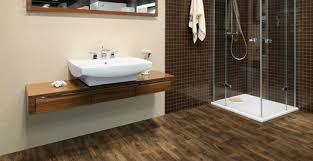 Stylish Laminate Flooring In The Bathroom Within Bathroom Wood Flooring For  Bathrooms And Kitchens