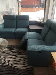 electric reclining sectional sofa with integrated speakers palliser