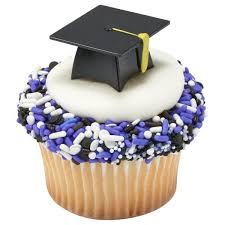 Graduation Cupcake Picks Assorted Styles And Designs Art Is In