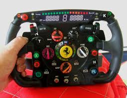 This wheel marks the second time that thrustmaster has made a replica of a ferrari f1 car's steering wheel, but unlike that largely decorative 2011 model, this unit is fully functional. Ferrari Formula One 2010 Replica Ferrari F1 Steering Catawiki