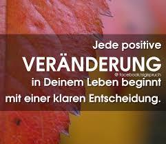 Jede Positive Veränderung In Deinem Leben Beginnt Mit Einer Klaren