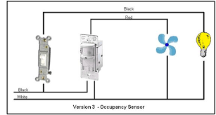 bathroom fan control version 3 occupancy sensor