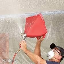 textured ceiling repair tips diy
