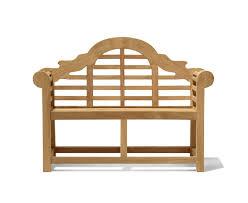 Lutyens-Style Teak <b>Children's Decorative Garden Bench</b> by Jati