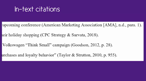 How To Cite Using Apa Style 6th Ed References List In Text Citations