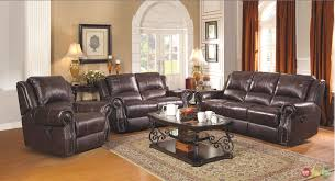 Reclining Living Room Furniture Sets Sir Rawlinson Leather Motion Living Room Furniture Reclining Sofa