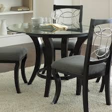 Round Table 122nd Steve Silver Company Cy480 Cayman Round Dining Table The Mine