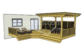 Backyard Deck Designs Plans Unique Decorating Ideas