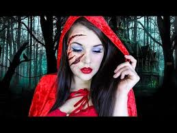 little red riding hood makeup tutorial cherry wallis