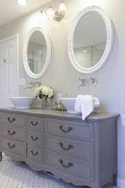 Bathroom Vanity Double Inspiration Stunning Bathroom Tour Dresser Into Double Vanity Bathrooms
