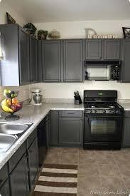 kitchen ideas white cabinets black appliances. Dark Gray Cabinets Black Appliances And White Or How To Make It Work Kitchen Ideas N