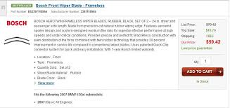 Bmw Wiper Blade Size Chart Wiper Blades Sizes 5series Net Forums