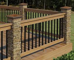 porch railing designs ideas homes innovator