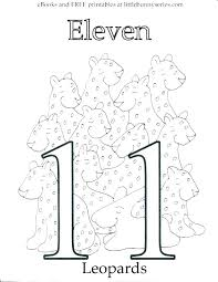 Coloring Number Pages Number Coloring Pages For Kindergarten