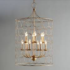flores circle design 12 light candle style chandelier