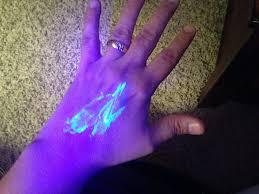 Blue Light Germ Detector Amazon Com Glo Germ Mini Kit With Powder And Light Health