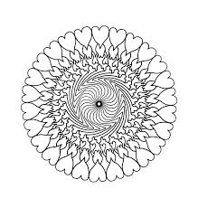 Ausmalbilder Mandala Johncalle Panneau Brise Vue Boigedimat