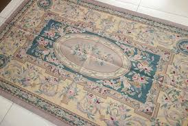 european design french market collection hand woven beautiful aubusson rug