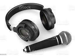 Kulaklık Ve Mikrofon Beyaz Arka Plan Üzerinde İzole 3d Çizim Stok  Fotoğraflar & Albüm - Analog Ses'nin Daha Fazla Resimleri - iStock