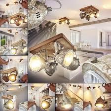 Beleuchtung Holz Decken Strahler Dielen Flur Vintage Lampen