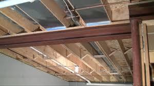 basement beam carrying loads