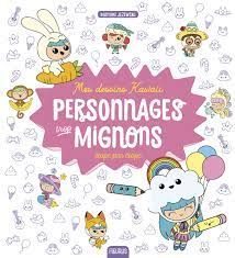 Here you can explore hq dessins mignons transparent illustrations, icons and clipart with filter setting like size, type, color etc. Mes Dessins Kawaii Personnages Trop Mignons Mes Dessins Pas A Pas French Edition Jezewski Mayumi 9782215171676 Amazon Com Books