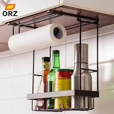 ORZ <b>Kitchen Storage</b> Organizer Paper Holder Towel Hanger <b>Spice</b> ...