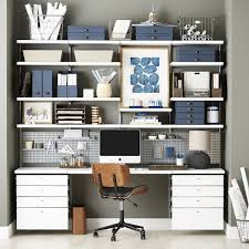 home office solution. Create A Custom Home Office Solution With Modular Shelving Designed For Your Unique Needs.