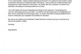 Example Of Education Cover Letters 008 Examples Of Cover Letters For Teachers Letter Template Ulyssesroom