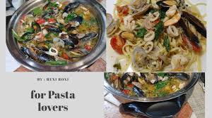 Over the Top SEAFOOD PASTA - YouTube