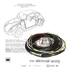 wiring works wiringworks vw bug replacement wiring harness wire harness wire volkswagen bus karmann ghia beetle super larger photo email a friend