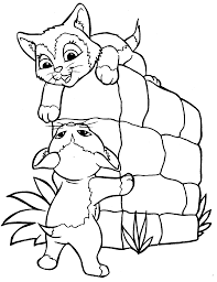 Christmas Cats Coloring Pages For Kids With Free Printable Cat