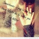 Sad crying girl quotes pictures