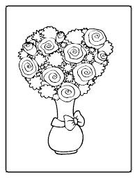Fiorellini Da Colorare
