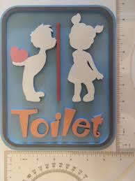 kids bathroom decor signs. Unique Decor 2 Of 3 Toilet Vintage Wooden Bathroom Decor Signs Cute Lavatory Lovely Kids  Home Gift Inside U