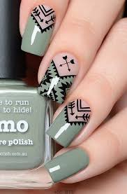 the shaped nails are for many las favorite and here s how to color them and