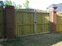 1 1 4 square galvanized metal frames top prevent saging and warping of wooden gates
