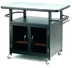 outdoor prep table with storage grill side mesmerizing for your cabinet canada outdoor grill prep table