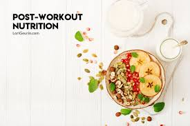 healthy food to eat after a workout