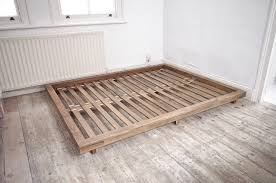 Platform Kingsize Bed By Low Bed Frames King Stunning King Size Bed ...