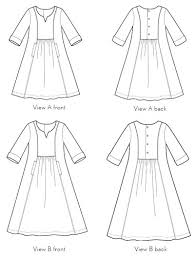Dress Sewing Patterns Beauteous Digital Cinema Dress Sewing Pattern Shop Oliver S