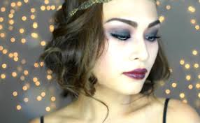 1920 s gatsby flapper inspired makeup for hooded asian eyes
