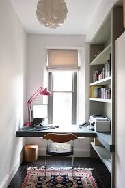 modern pendant lighting home office contemporary with built in desk